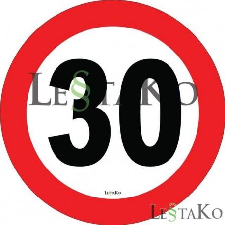 Speed Label 20 Km / h